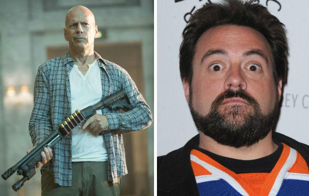 Bruce Willis brands Kevin Smith 'a whiner'
