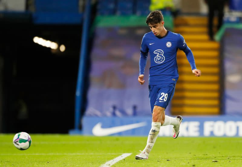 Havertz hits treble as Chelsea rout Barnsley