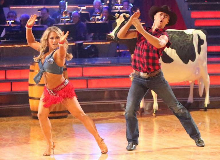 Shawn Johnson and Derek Hough (10/29/12)