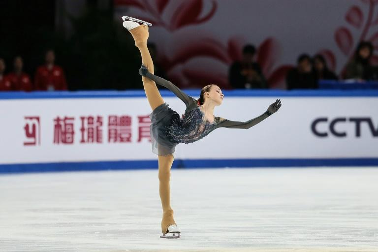 Fast-rising Anna Shcherbakova of Russia skated to gold in the ISU Grand Prix Cup of China