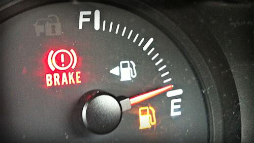 Driving on empty: How far your car can go with the gas light on