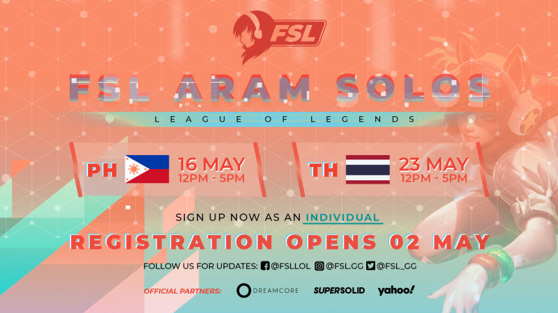 Female Esports League League of Legends ARAM (Philippines, Thailand)