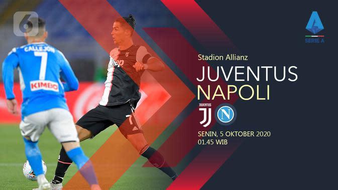 Juventus vs Napoli, (Liputan6.com/Abdillah)