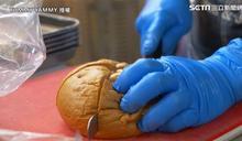 韓爆漿奶油大蒜麵包 外酥內軟超誘人
