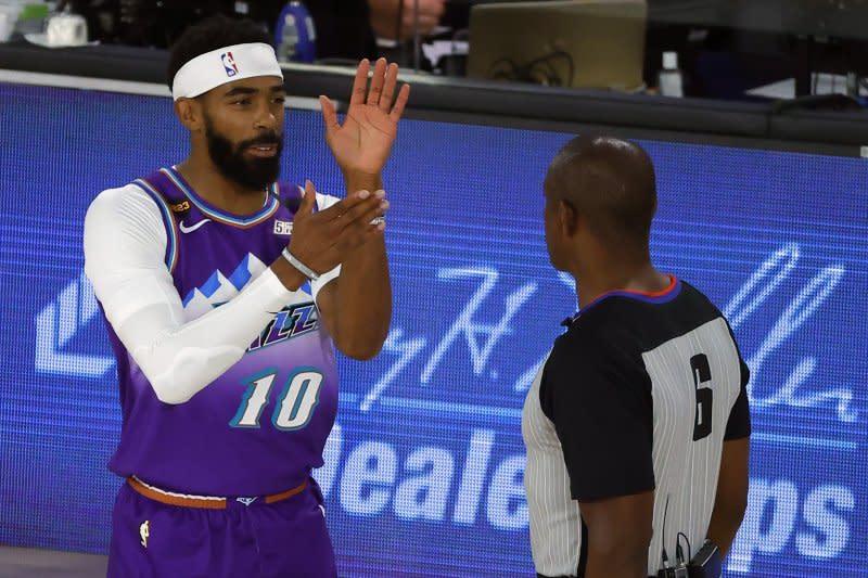 Conley kembali ke gelembung NBA untuk perkuat lagi Jazz