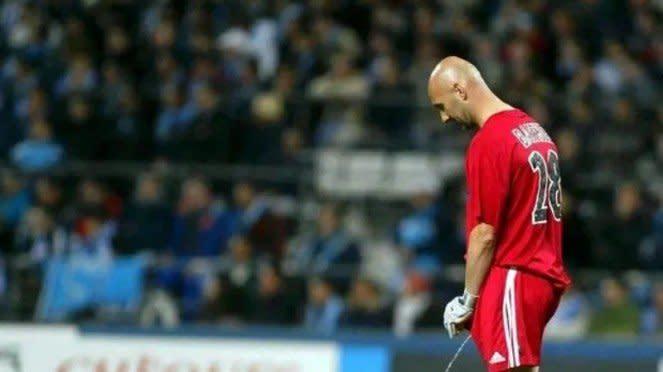 Mantan pemain Timnas Prancis dan MU, Fabien Barthez.