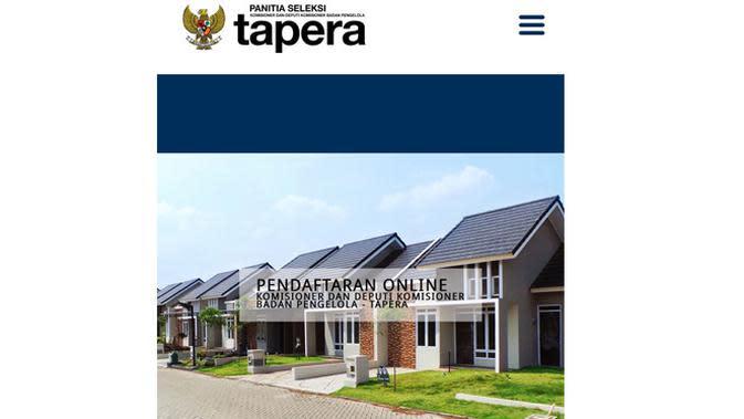 Pembukaan Pendaftaran Calon Komisioner dan Deputi Komisioner BP Tapera