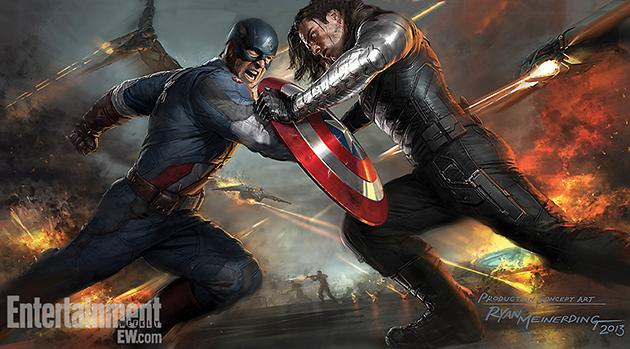 Hold Up! Captain America Fights His Friend Bucky Barnes in 'Winter Soldier'?