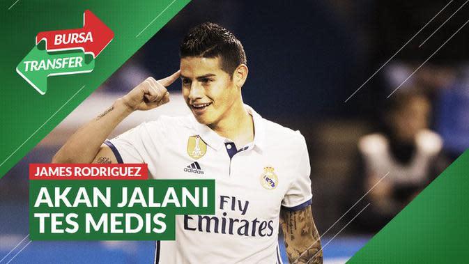 VIDEO Bursa Transfer: Setelah Real Madrid dan Bayern Munchen, James Rodriguez Siap Main Untuk Everton