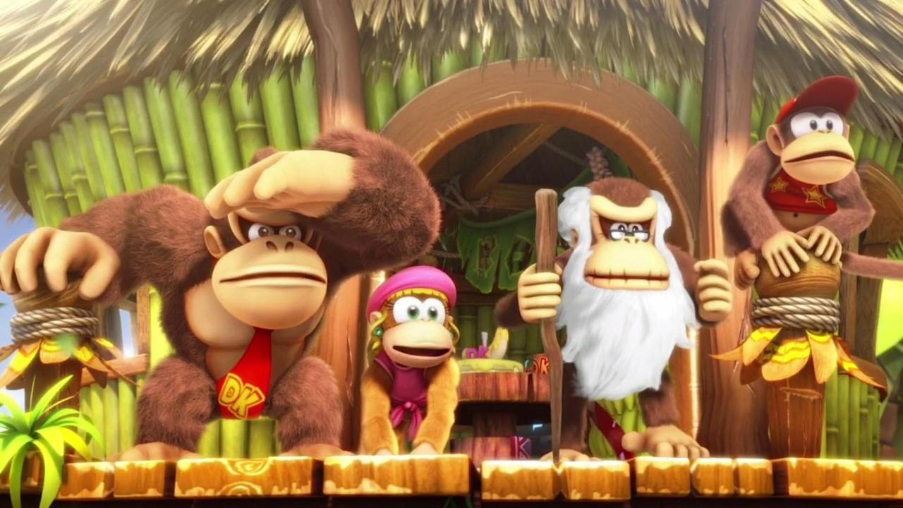 """<p>While it may be little more than a funkified port of the 2014 Wii U release, <em>Tropical Freeze </em>is still a must for any Switch owner. It features some of the more difficult platforming we've seen from the series, while offering fantastic co-op with five playable characters: DK, Diddy Kong, Trixie Kong, Cranky Kong, and of course, Funky Kong.</p><p>Each character has two modes: One in single player, and one in co-op. In single player, the characters augment DK or Funky Kong's abilities by riding on their back and integrating themselves into the move set, while in co-op mode, each character stands out with their own abilities. The world of <em>Tropical Freeze</em> is chock-full of level variation and seriously stunning silhouette stages, and the soundtrack lives up to the high standard set decades ago by classic <em>Donkey Kong Country</em> titles. <em>—Cam Sherrill</em></p><p><a class=""""body-btn-link"""" href=""""https://www.amazon.com/Donkey-Kong-Country-Nintendo-Digital/dp/B07CK2ZGQB?tag=syn-yahoo-20&ascsubtag=%5Bartid%7C10054.g.27110663%5Bsrc%7Cyahoo-us"""" target=""""_blank"""">Buy</a><em> </em><em><a href=""""https://www.amazon.com/Donkey-Kong-Country-Nintendo-Digital/dp/B07CK2ZGQB?tag=syn-yahoo-20&ascsubtag=%5Bartid%7C10054.g.27110663%5Bsrc%7Cyahoo-us"""" target=""""_blank"""">amazon.com</a></em></p>"""