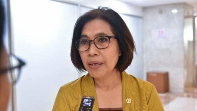 Indah Kurnia, yang telah menjadi anggota DPR RI tiga periode dari daerah pemilihan (Dapil) 1 Surabaya-Sidoarjo. (Foto: Dok Istimewa)