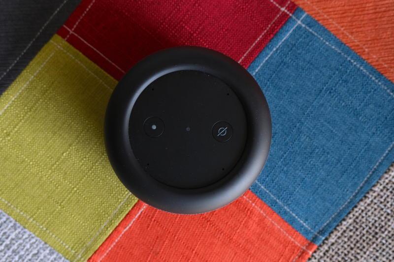 Amazon Echo Input Portable buttons