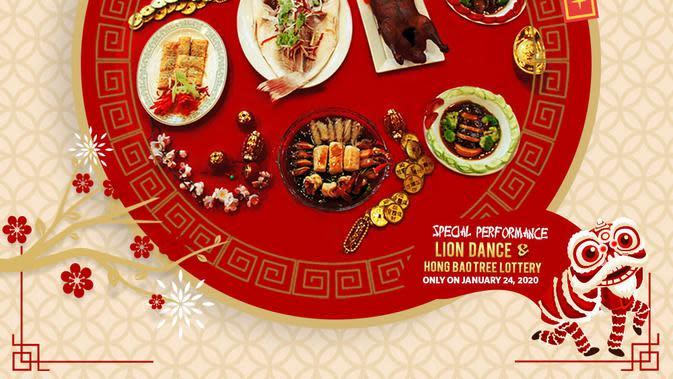 Menu Tahun Baru China di Hotel Millennium, Jakarta. (dok. Hotel Millennium Jakarta/Adhita Diansyavira)