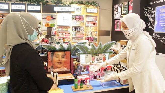 Gerai The Body Shop mulai membuka gerai untuk menuju era new normal/ Dok. The Body Shop