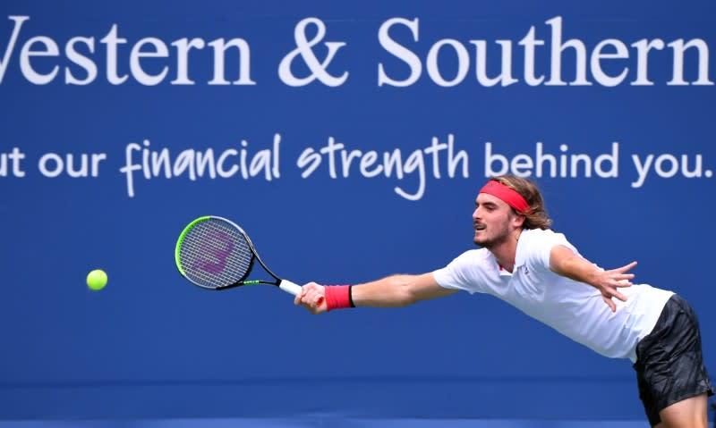 Dominant Tsitsipas advances to U.S. Open second round