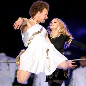 Madonna's Toga-Clad Tightrope Walker: Who Was That Guy?