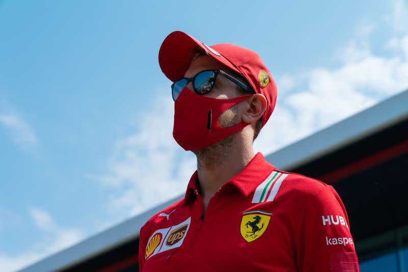 Ferrari change Vettel's chassis for Spanish GP
