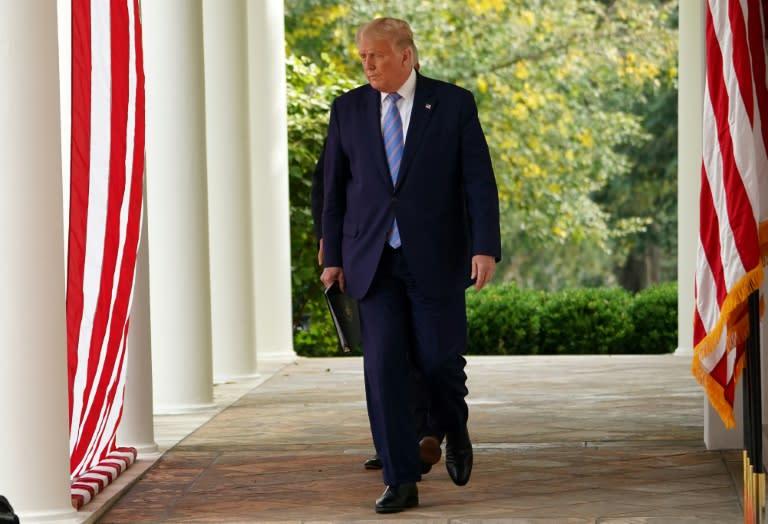 Tax bombshell throws Trump on defensive ahead of debate