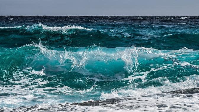 Ilustrasi gelombang laut (Sumber: Pixabay)