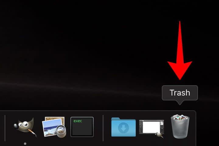 MacOS Trash Icon Location