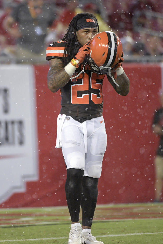 Calvin Pryor, A Former First Round Draft Pick, Was Released By The  Cleveland Browns On Thursday, Reportedly After A Pre Practice Fight With  Receiver Ricardo ...