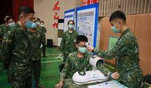 集體防疫 陸軍流感疫苗接種示範