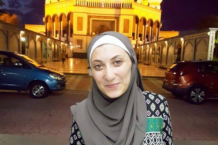 Zainab Mourad mengatakan Ramadan menjadi saatnya bagi dia untuk nmencapai rasa kedamaian tanpa gangguan dari luar.