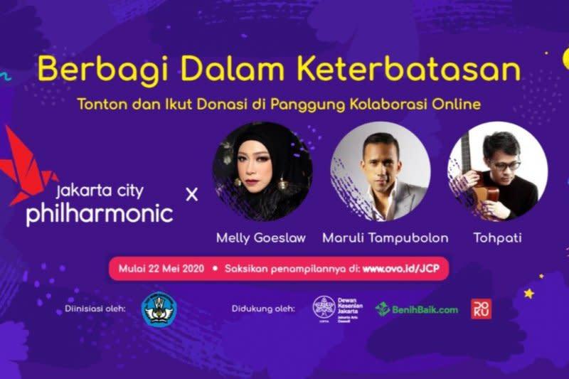 Konser Jakarta City Philharmonic untuk bantu seniman trasional