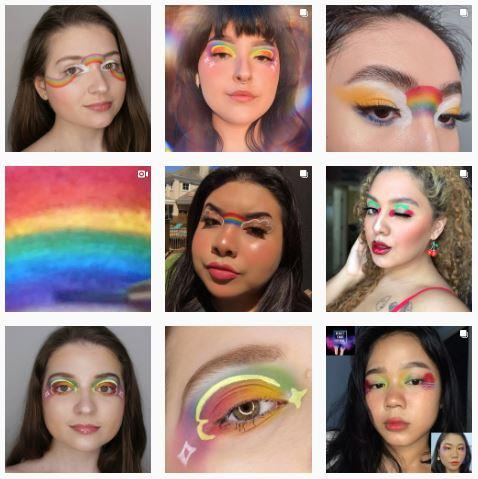Just nine of the many creators inspired by Lee's work, who tagged her on their Instagram posts. Photo: Lee Ming Hui / Instagram