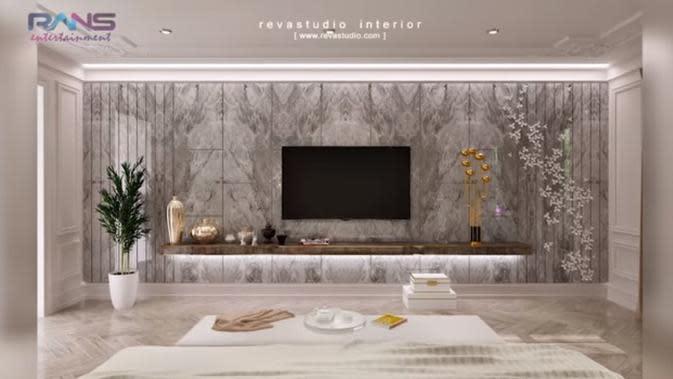 Rumah baru Raffi Ahmad dan Nagita Slavina (Sumber: Youtube/Rans Entertainment)
