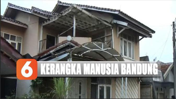 Tes DNA Dilakukan pada Kerangka Manusia dalam Rumah Kosong di Bandung