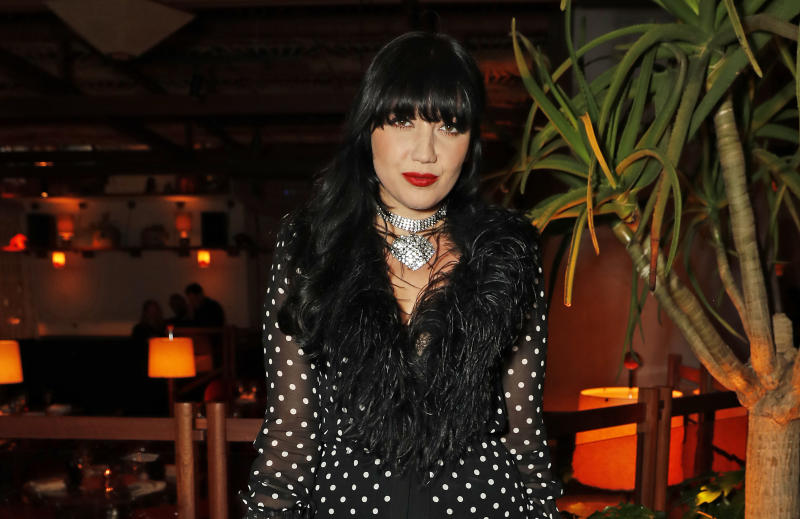 LONDON, ENGLAND - SEPTEMBER 16: Daisy Lowe attends the LOVE & YouTube LFW party supported by Perriet-Jouet and hosted by Katie Grand & Derek Blasberg at Decimo at The Standard, London, on September 16, 2019 in London, England. (Photo by David M. Benett/Dave Benett/Getty Images for LOVE Magazine)