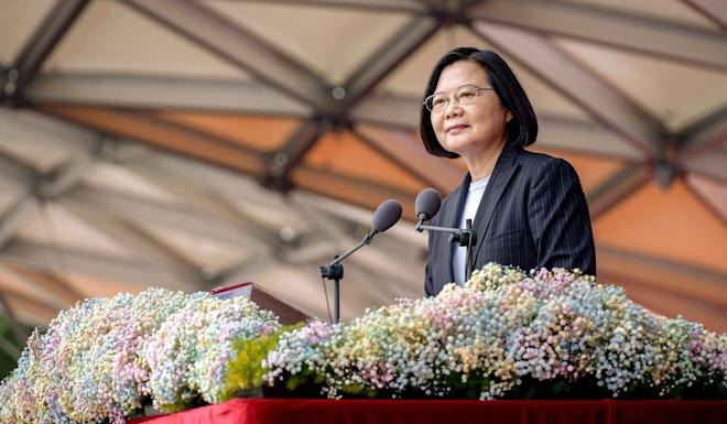 "The report came a day after Taiwanese President Tsai Ing-wen called for ""meaningful dialogue"" with the mainland. Photo: EPA-EFE"