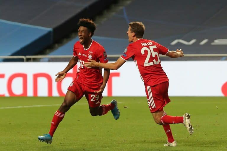 Bayern win Champions League as Coman goal defeats PSG