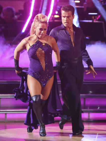 Sabrina Bryan and Louis Van Amstel (10/8/12)