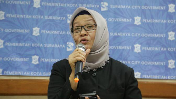 Kepala Dinas Kesehatan Kota Surabaya Febria Rachmanita. (Foto: Liputan6.com/Dian Kurniawan)