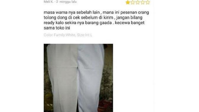 6 Momen Apes Beli Celana Online Ini Tak Sesuai Ekspektasi (sumber: Instagram.com/awreceh.id)