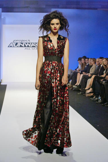 Mondo Guerra's design for the final challenge of Project Runway All Stars