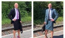 男工程師每天穿「窄裙高跟鞋」上班 行動實踐無性別時尚