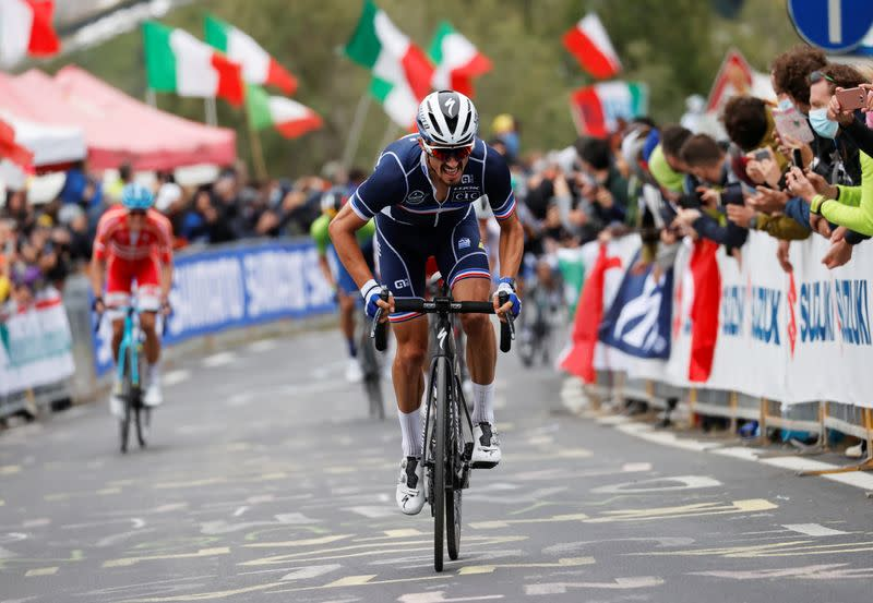 Cycling: Alaphilippe reaches career's pinnacle with world title