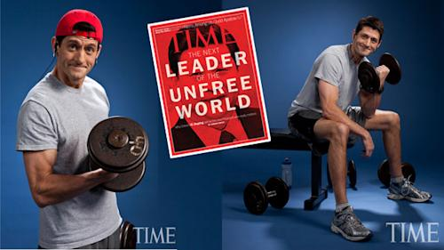 Paul Ryan Flexes His Muscles For Time Magazine