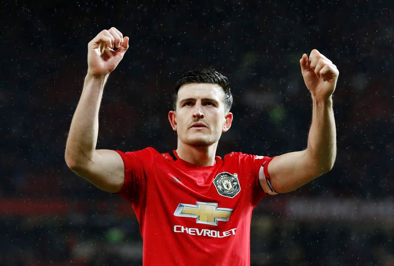 Man United captain Maguire feels safe on return to training