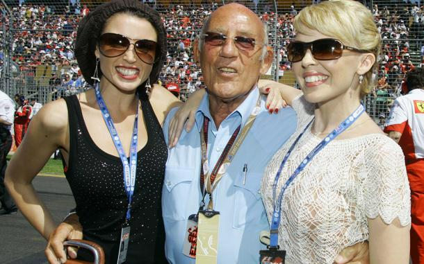 Stirling Moss says women can't race, ignoring experience