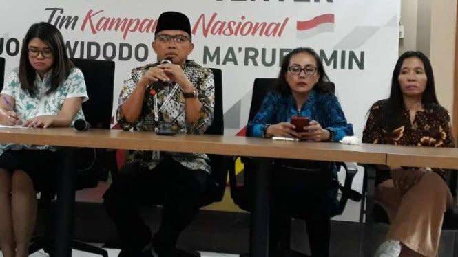 Tandingi KAMI, Relawan Jokowi-Ma'rufJelaskan Maksud Deklarasi KITA