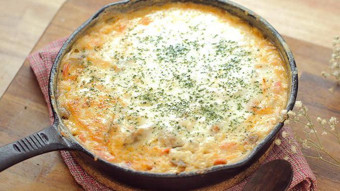 Resep Nasi Panggang Keju Mozzarella, Sajian Nikmat Cocok untuk Sahur