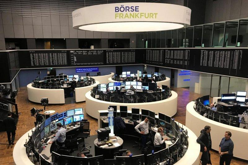 Saham unggulan di Jerman memerah, Indeks DAX 30 jatuh 3,19 persen