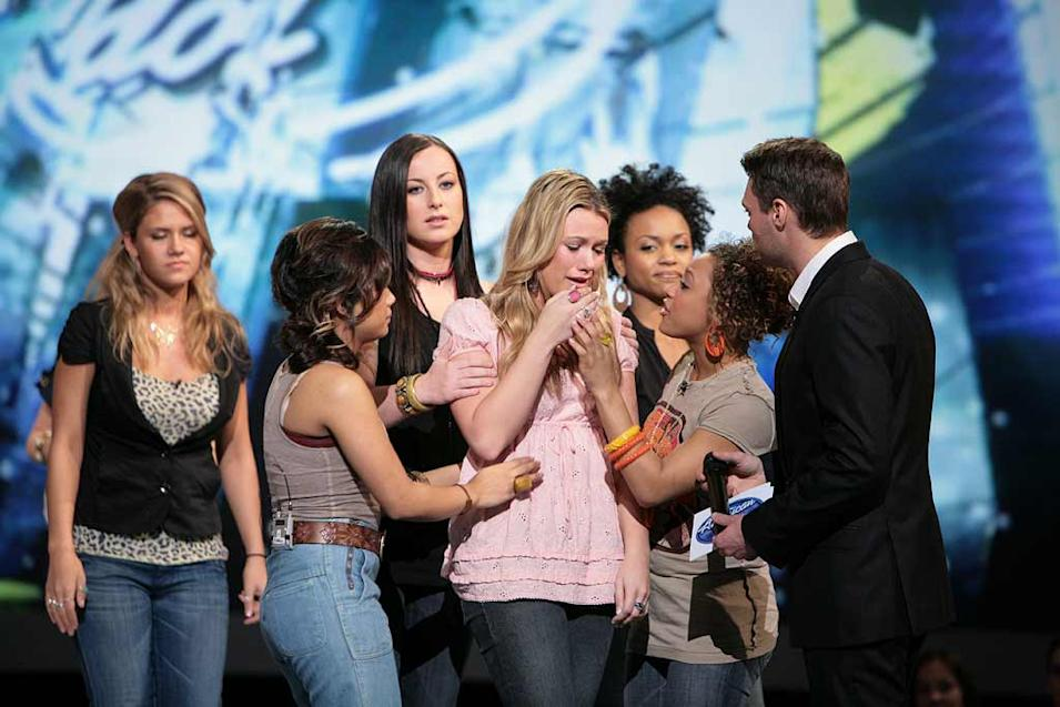 Alaina Whitaker is eliminated from the 7th season of American Idol.