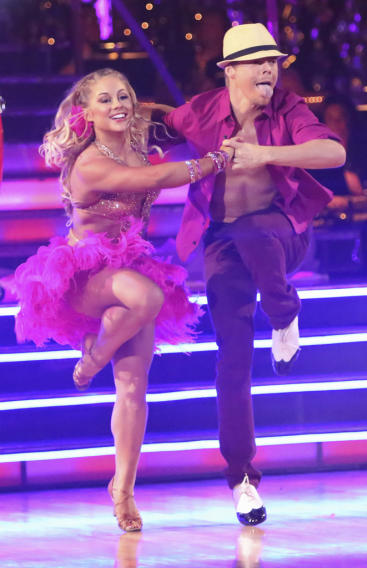 Shawn Johnson and Derek Hough (10/15/12)