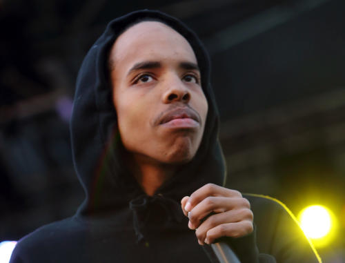 FILE - This May 26, 2013 file photo shows Earl Sweatshirt performing at The Sasquatch! Music Festival in George, Wash.(Photo by John Davisson/Invision/AP, File)