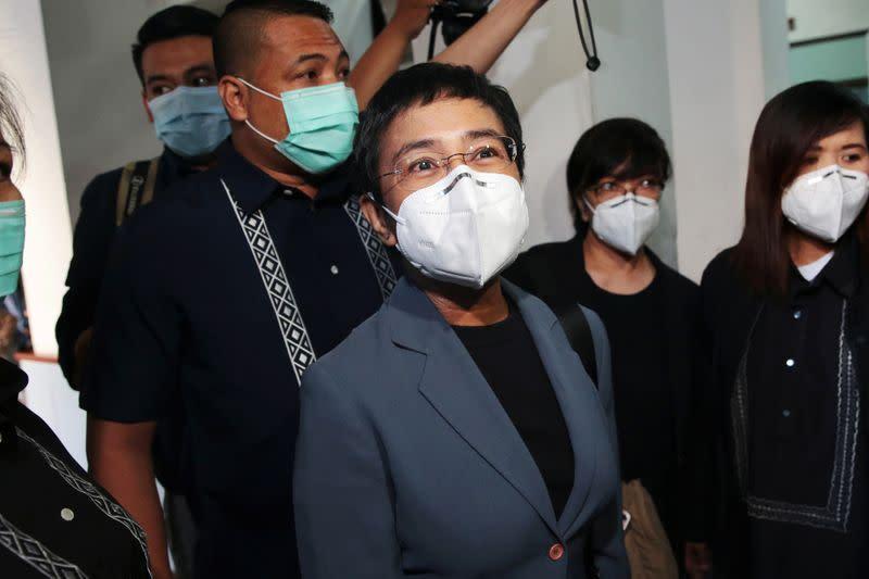 Pengadilan Filipina vonis enam tahun penjara pimpinan situs berita rappler.com